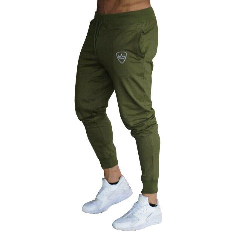 ¡Verano 2020! Pantalones de entrenamiento de gimnasia para hombre, Pantalones de deporte ajustados para hombre