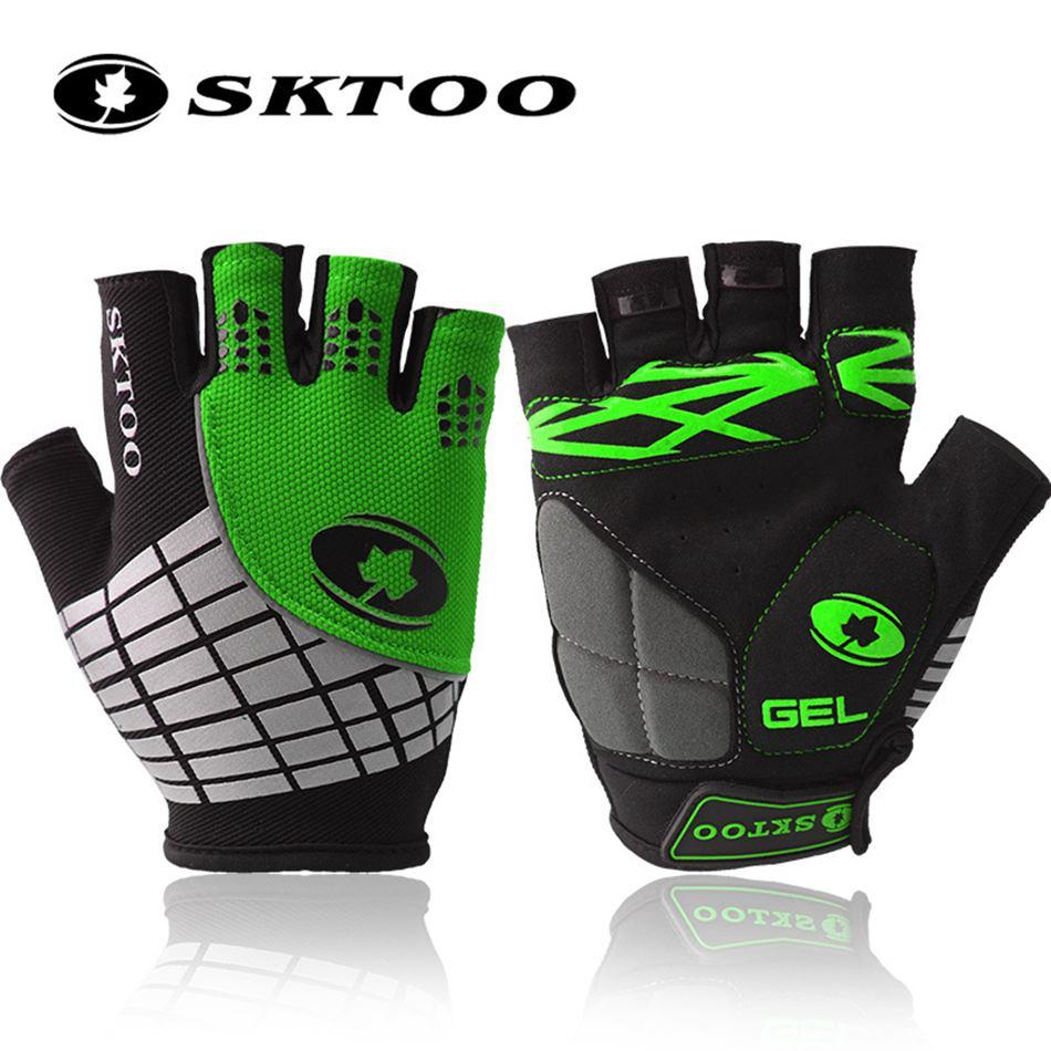 SKTOO 2020 летние велосипедные перчатки для горного велосипеда, перчатки с полупальцами, гелевые перчатки для мужчин и женщин, женские перчатки bycicle, аксессуары