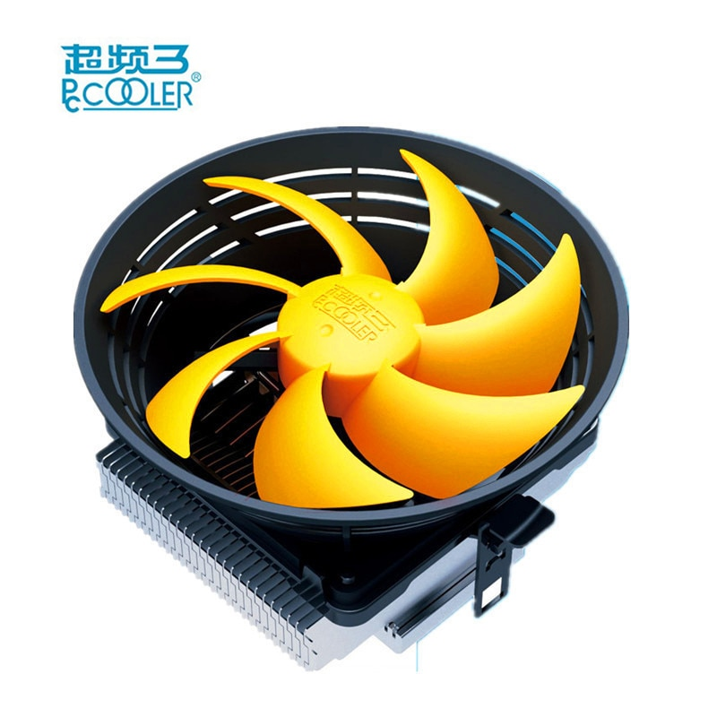 PcCooler Q120 CPU Cooler Fan for Intel LGA 775 1155 1156 1150 AMD FM2 Desktop Liquid Cooling Socket CPU fan Heatsink Holder