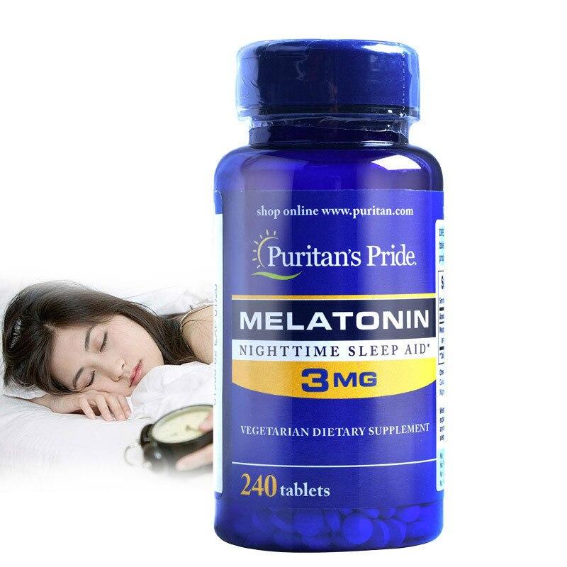 Бесплатная доставка мелатонин ночного сна помощи 3 мг * 240 шт
