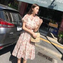 2019 Vrouwen Kleding korte Mouw Maxi Jurk Oversized Kaftan Jurk Plus Zomer