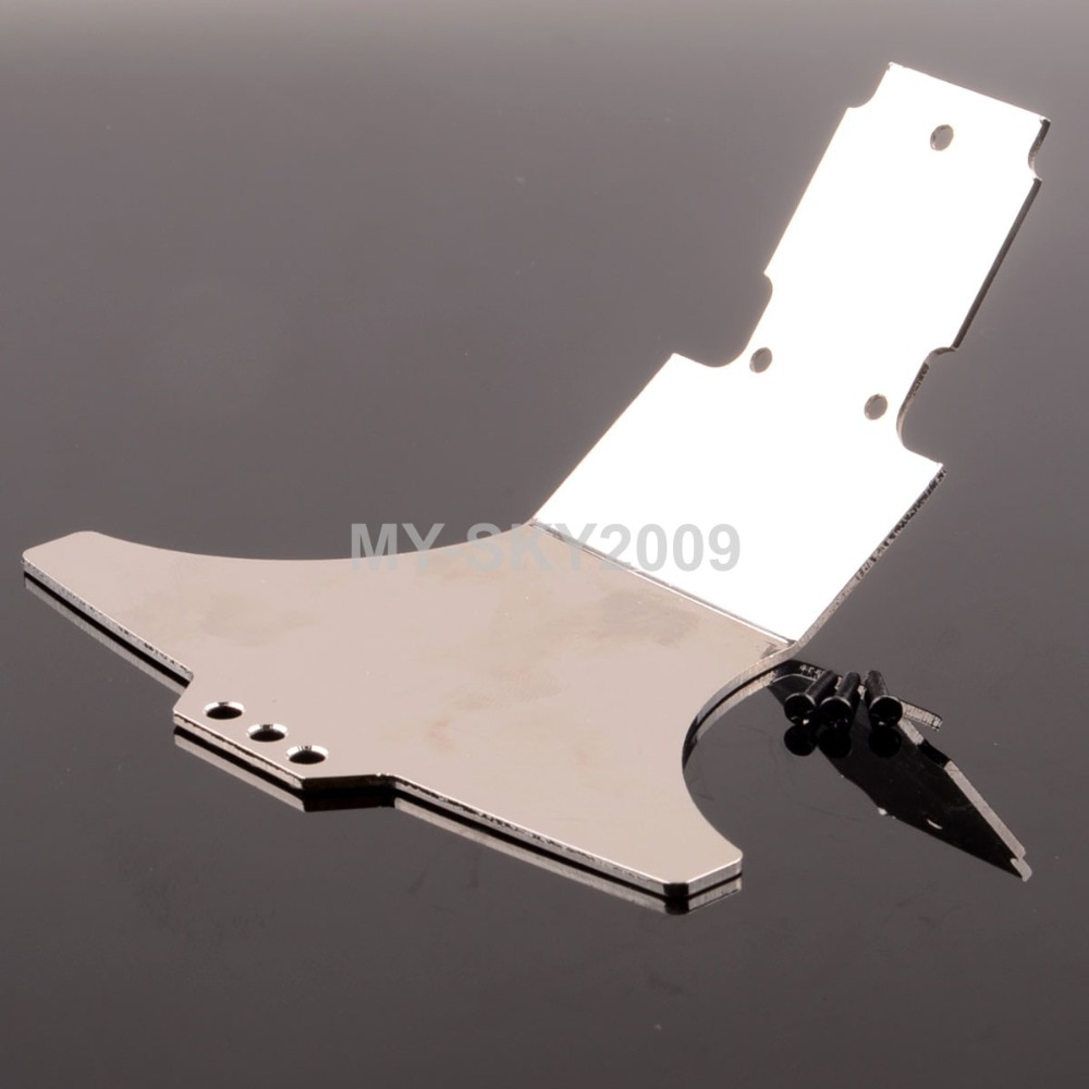 WL игрушки гоночный A959-04 Алюминиевый задний кронштейн бампер пластина для 1/18 WLtoys внедорожный автомобиль