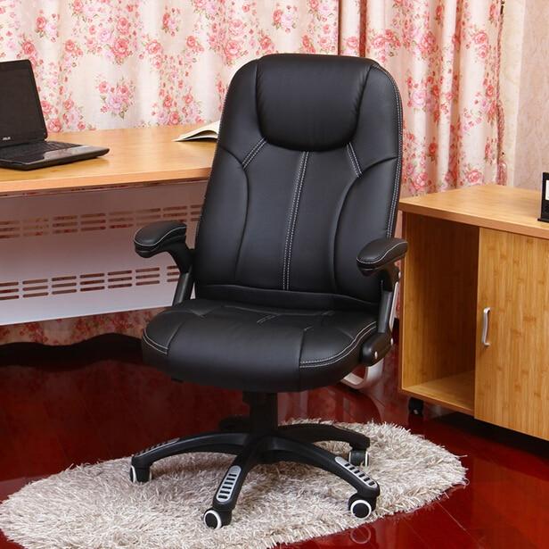 Повседневные офисные стулья с вращающимся лифтом, рекламные кожаные эргономичные компьютерные стулья siesta boss