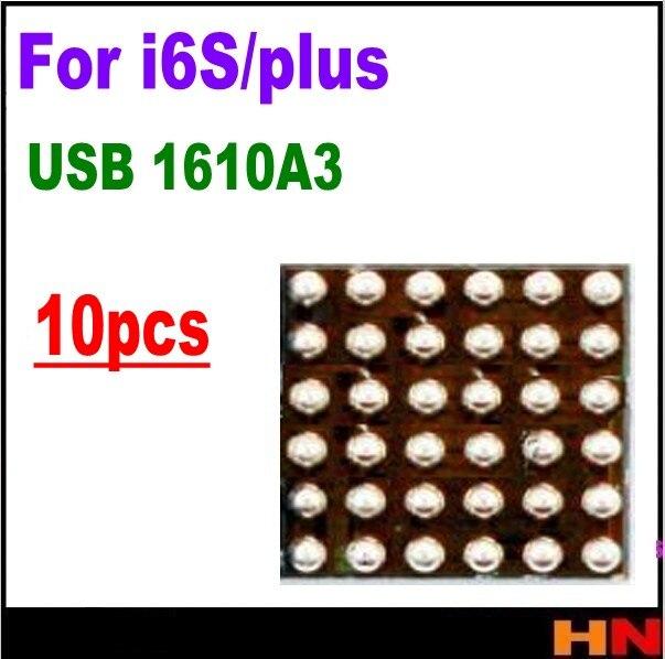 10 unids/lote nuevo Original 1610A3 IC para iphone 6 6 S 6 Splus U2 IC USB cargador de carga IC 36 pines