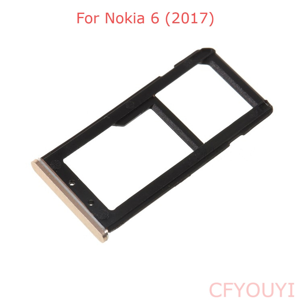 For Nokia 6 2017 Dual SIM Card Tray Holder Slot Replacement Part