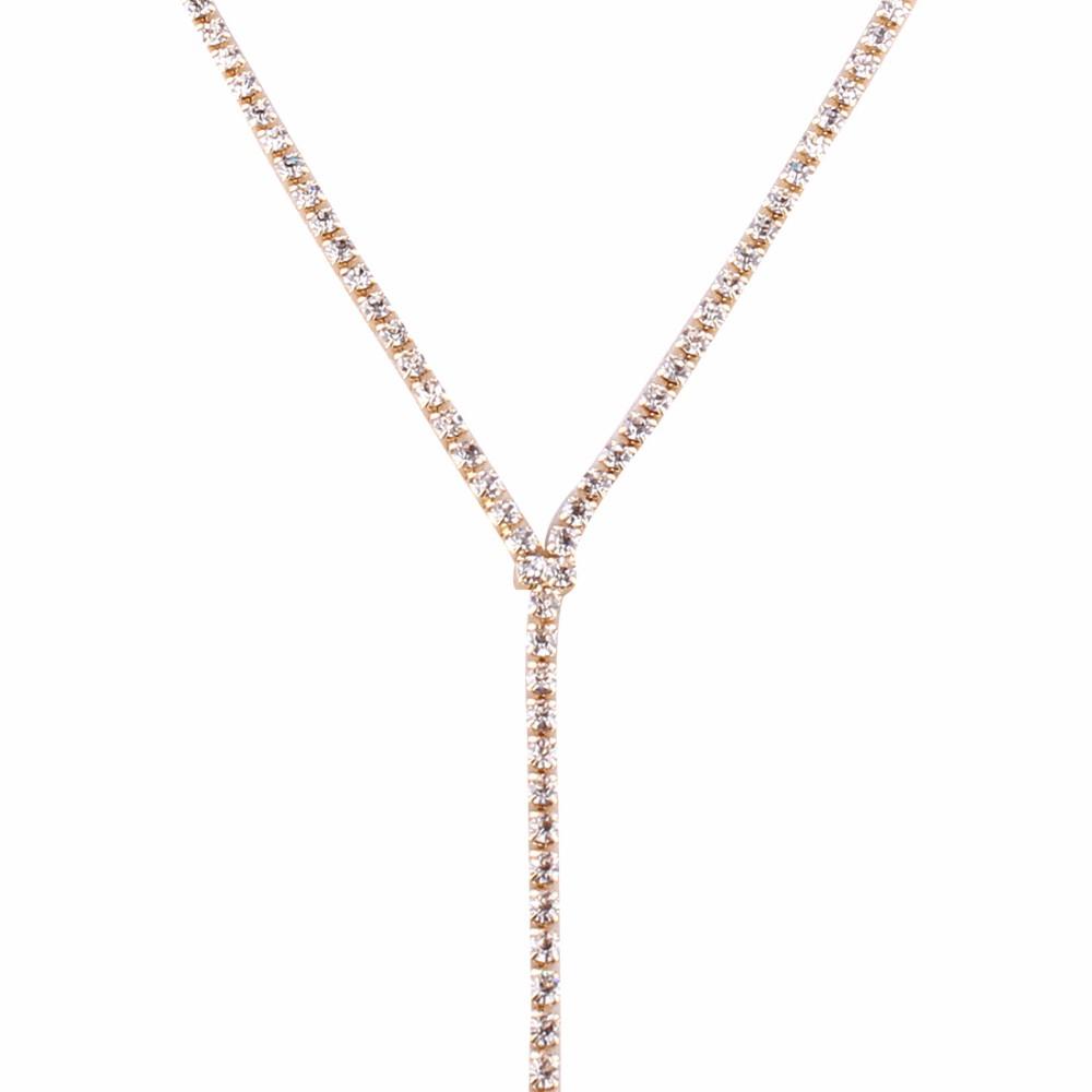 Rhinestone Crystal Luxury Choker Statement Necklace Jewelry 7