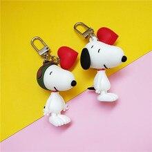 2019 New Fashion Dog Car Keychain Animal Couple Lovely Keychain Car Keyring Gift For Girl Women And Men Key Chain