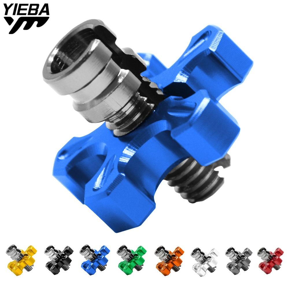 M8 * 1.25 aluminum Universal motorcycle clutch wire adjustment cable for yamaha FJ-09/MT-09 TRACER MT-10 FZ1 FZ6 FAZER FZ8 MT-01