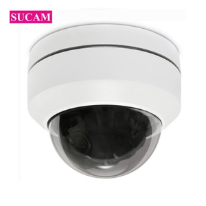 8MP Mini IP Dome PTZ CCTV Camera ONVIF Pan Tilt 4x Zoom Home Security 8.0 Megapixel HISEE Surveillance IP CCTV Camera 30M IR