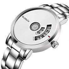 2018 New Fashion Top Brand Paidu Turntable DialSteel Band WristWatches Fashion Sports Watches Men Women Unisex Gift Dress Clocks