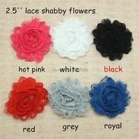 45 yards  lot   2 5 headband shabby lace flowers   lace shabby flowers