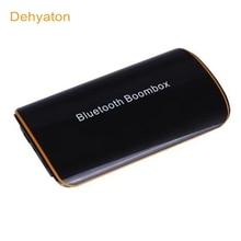 Dehyaton B2 sans fil stéréo Bluetooth 4.1 EDR récepteur Audio boîte à musique avec micro 3.5mm RCA pour haut-parleur voiture AUX appareils Audio à la maison