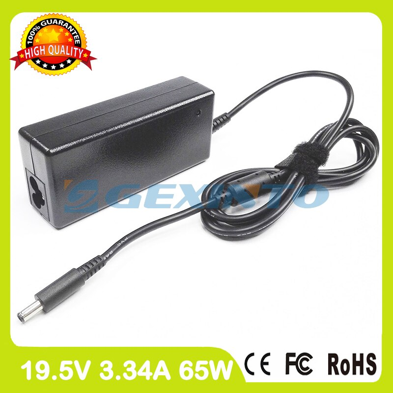 19,5 V 3.34A 65 W portátil AC adaptador de corriente cargador PA-1650-02D4 043NY4 para Dell Inspiron 11 3147, 3148, 3152, 3153 3157 de 3158 P20T