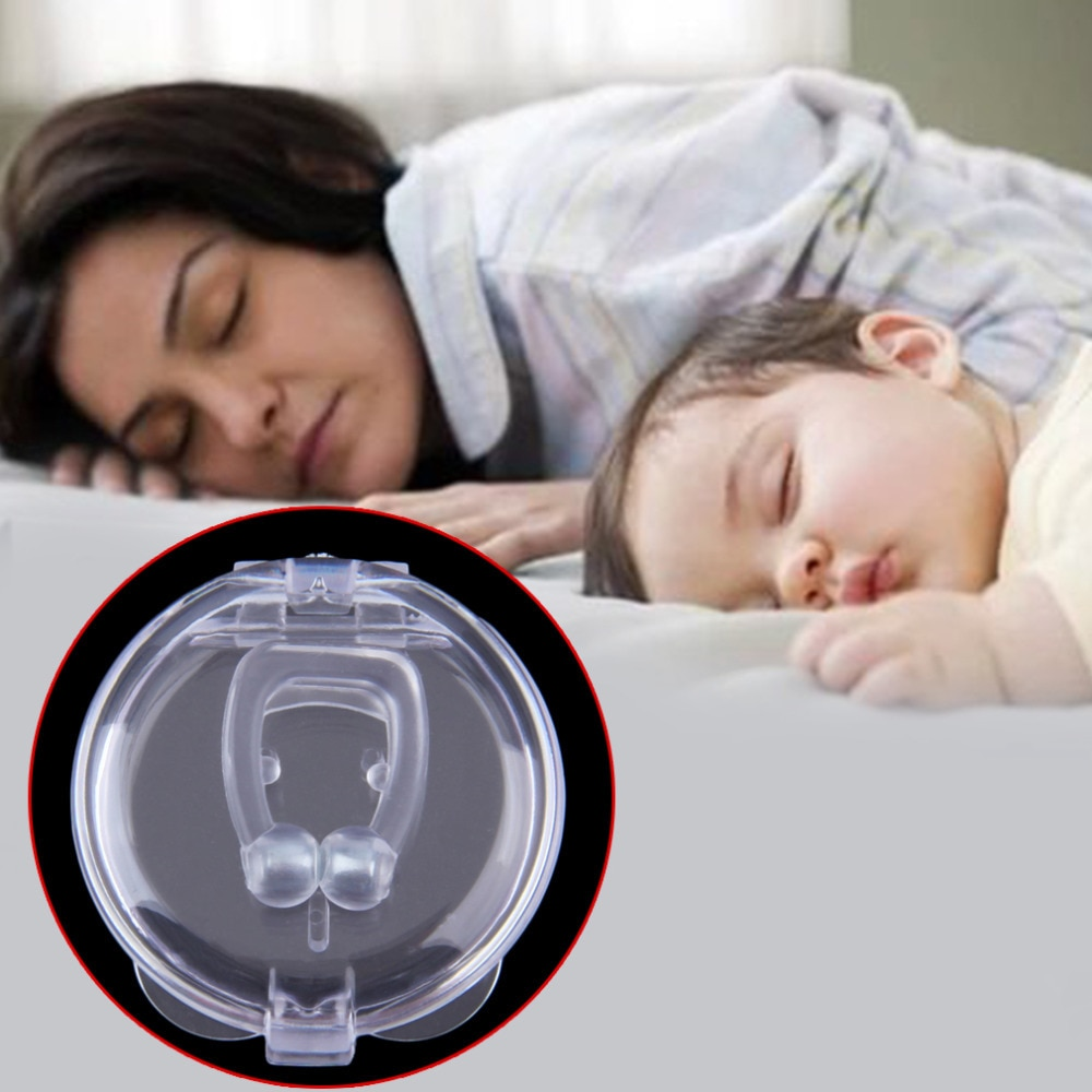 3 шт., антихрап, зажим для носа, защита от апноэ, поддон для ухода за сном, устраняющий или облегчающий храп, забота о здоровье, 2018