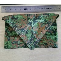 16 wwii germany armys camouflage triangle towel rain cap accessories models
