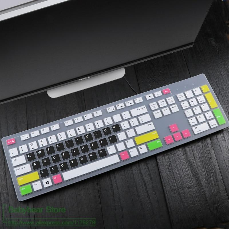 Tastatur Abdeckung für DELL inspiron AIO kb216 kb216p kb216t km636 Alle-in-One PC Desktop PC Wasserdichte staubdicht protector Haut