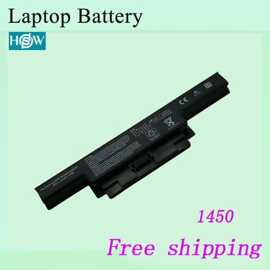 Nueva batería del ordenador portátil para DELL Studio 1450 1450N 1457 1458 1558R