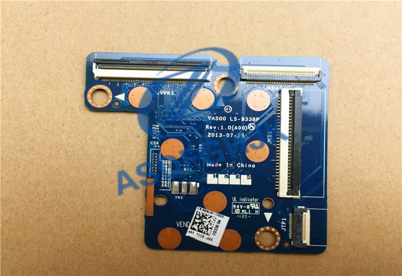 Genuino para DELL para Alienware 18 R1 17 R1 PCB junta de buen envío gratis LS-9338P 100% prueba OK