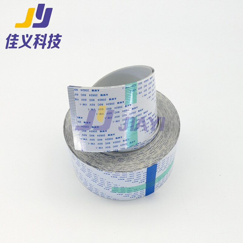2 шт 40Pin длинный кабель для передачи данных FFC плоский кабель для Mimaki JV3/JV5/TS34/JV34 Eco-Slovent струйные принтеры; Фото и хорошая цена!