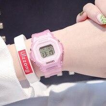 Fashion Sport Waterproof LED Digital Womens Watches Female Wristwatches Women Electronic Military Alarm Ladies Clock
