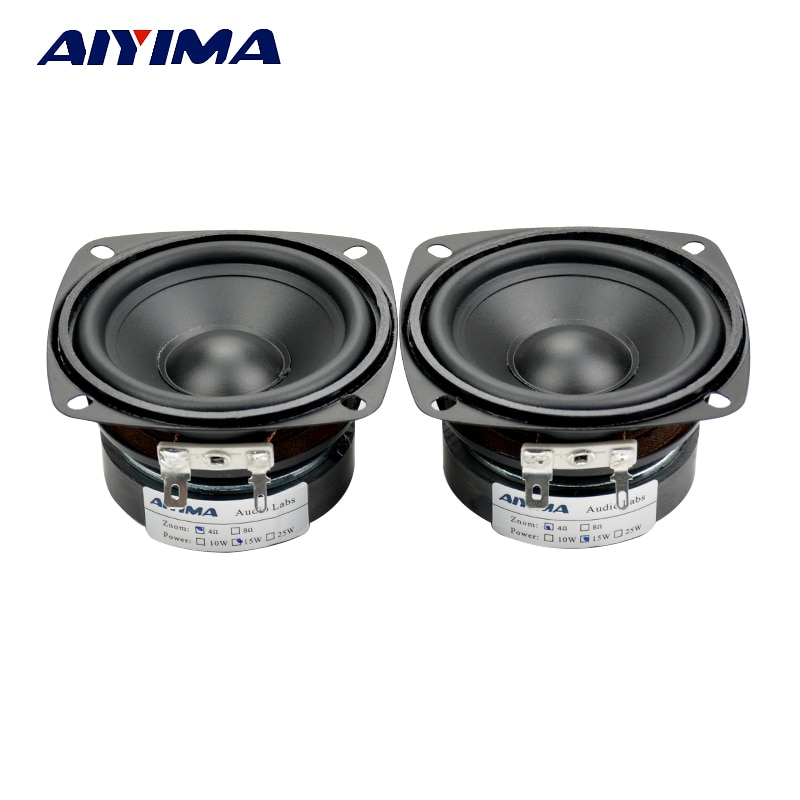 AIYIMA-Altavoz portátil para cine en casa, dispositivo de Audio de 3 pulgadas,...