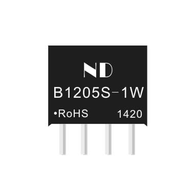 2PCS/LOTdc 12 v zu 5 v dc spannung liefern modul mikrocontroller op-amp isolation DCDC B1205S- 1 w