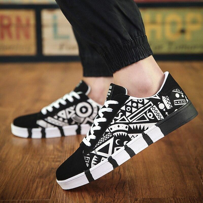 Primavera 2019 novos sapatos de lazer masculinos, sapatos de maré, sapatos de lona, edição coreana esportes maré masculino estudante sapatos