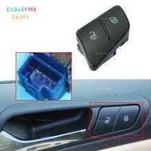 Switch interrupteur de verrouillage de porte gauche   Bouton LHD, pour Volkswagen Passat B6 2006 2007 2008 2009 2010 2011
