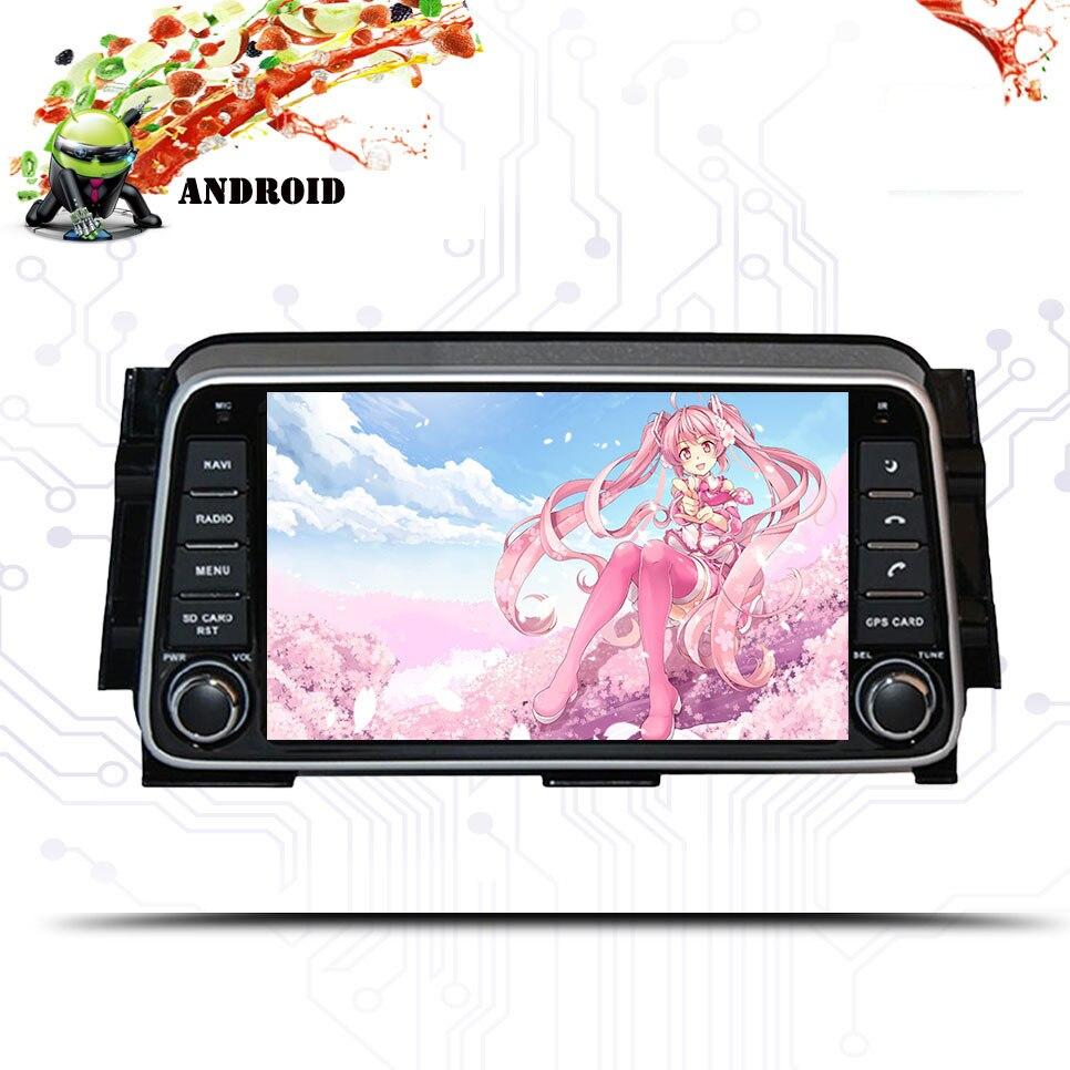 Android 9,0 64G reproductor de dvd del coche para Toyota Nissan patadas 2014 + Micra 2017-2018 2 din 1024*600 Gps Wifi Octa Core sistema