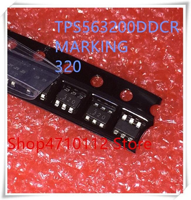 NOUVEAU 10 PCS/LOT TPS563200DDCR TPS563200 TPS563200DDCT MARQUAGE 320 SOT23-6 IC