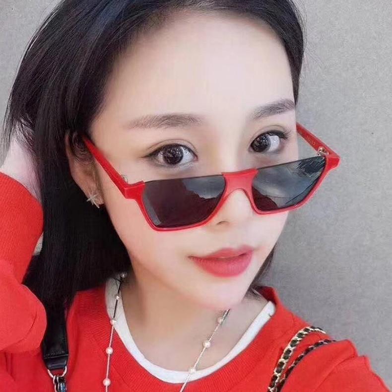 Sunglass Women Brand Sandbeach Retro Glasses Men Len Eyewear Ladies Fashion Vintage UV400 Triangle S