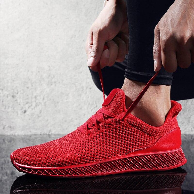 Vogue New Designer Casual Shoes Men Futuro Teoria Voar Homens Tecer Oco Sapatos Calçados Para Homens Tênis Chaussure Homme