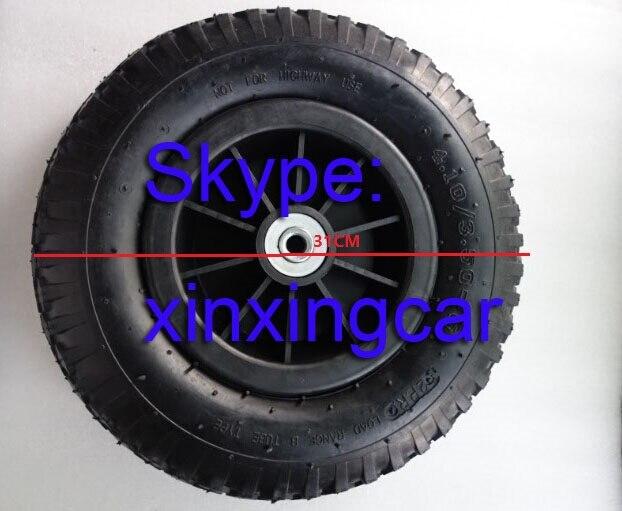 ¡Nuevo! neumáticos de plástico para motocicleta de 31CM 4,1/3,5-6, neumáticos de coche eléctrico infantil, neumáticos eléctricos para bebés y motocicletas