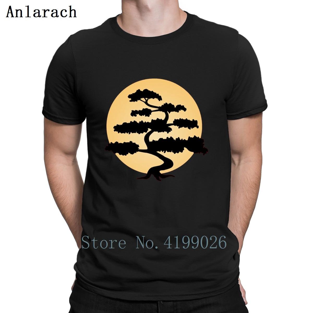 Bonsai árbol de Halloween camiseta limitada Camiseta de punto Top Camiseta ajustada cuello redondo personalizado camiseta interesante verano peculiar nuevo