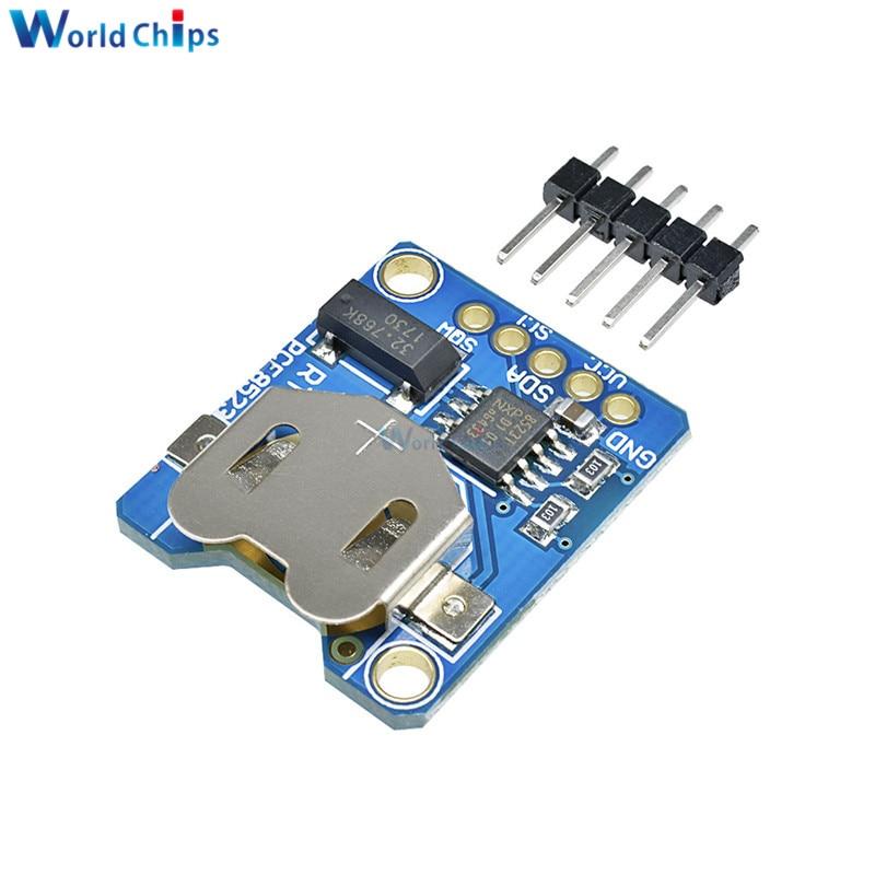 PCF8523 RTC Módulo de circuito impreso Digital controlador paso a paso PCF8523 reloj en tiempo Real RTC montado 3,3 V 5V para Arduino Raspberry Pi