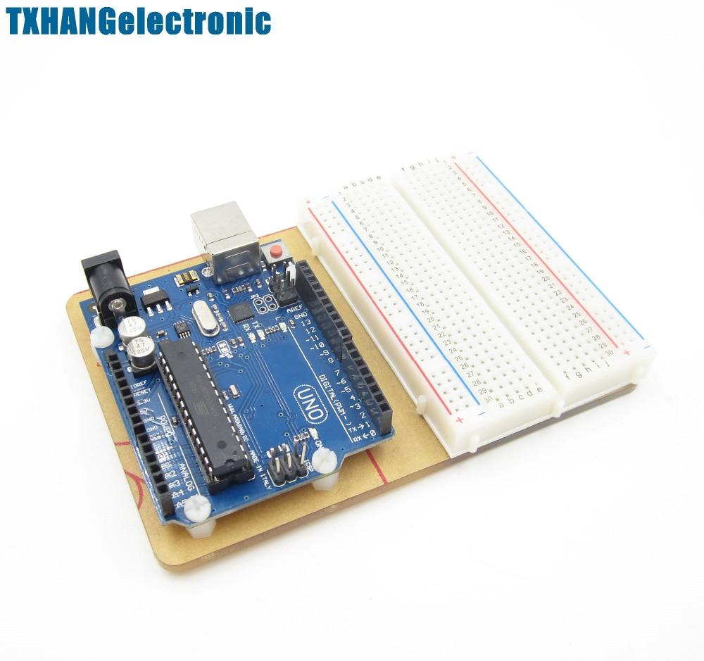 Universal Experimentelle plattform Transparent Klar Acryl Board für arduino uno r3