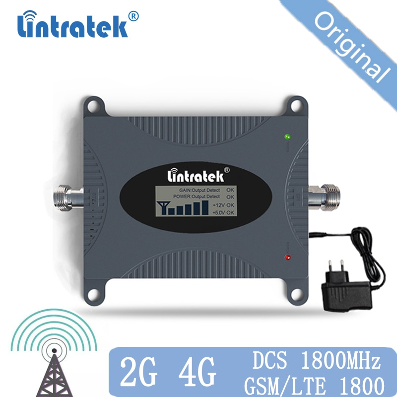 4g Lte 1800 MHz Amplificador de señal GSM Amplificador GSM 2g 4g...