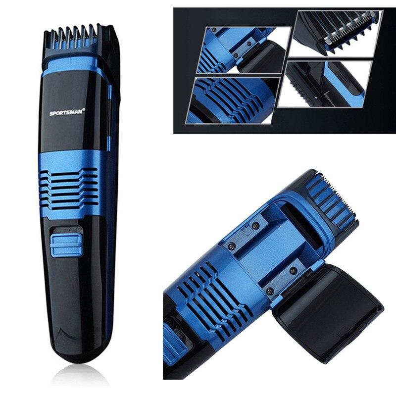 Cortador de barba al vacío profesional para hombres, recortador de pelo para hombres, afeitado de cara recargable con embellecedor de bigote, máquina de afeitado de cara eléctrica