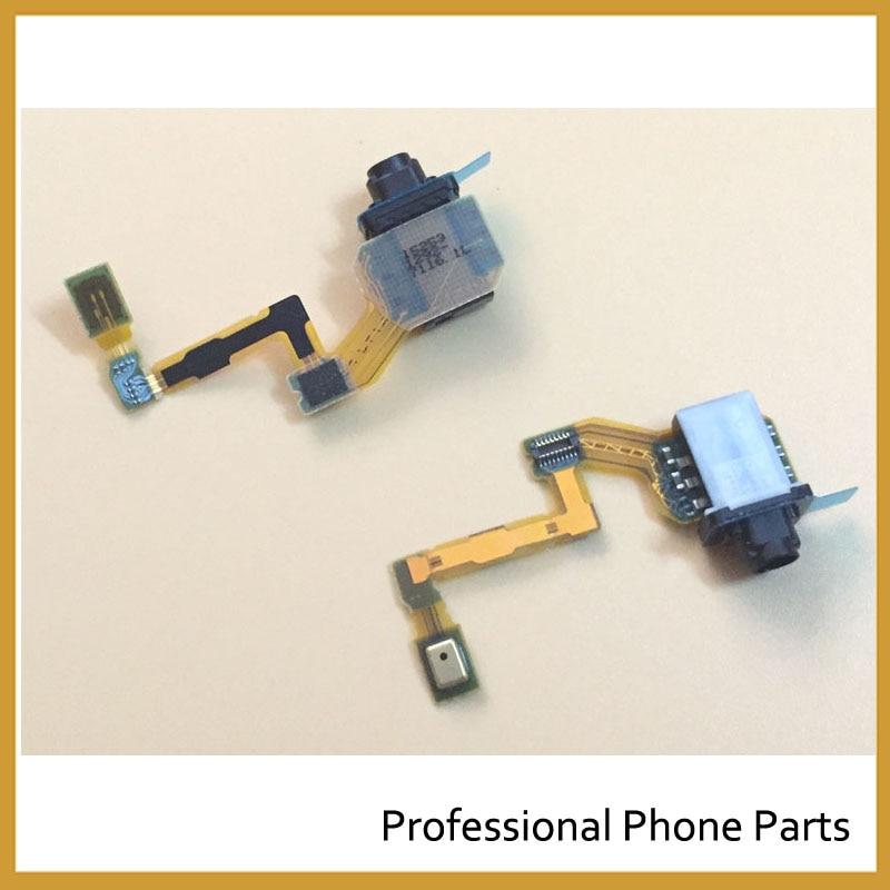 Original For Sony Xperia Z5 Headphone Audio Jack Flex Cable Microphone Mic Repair Parts