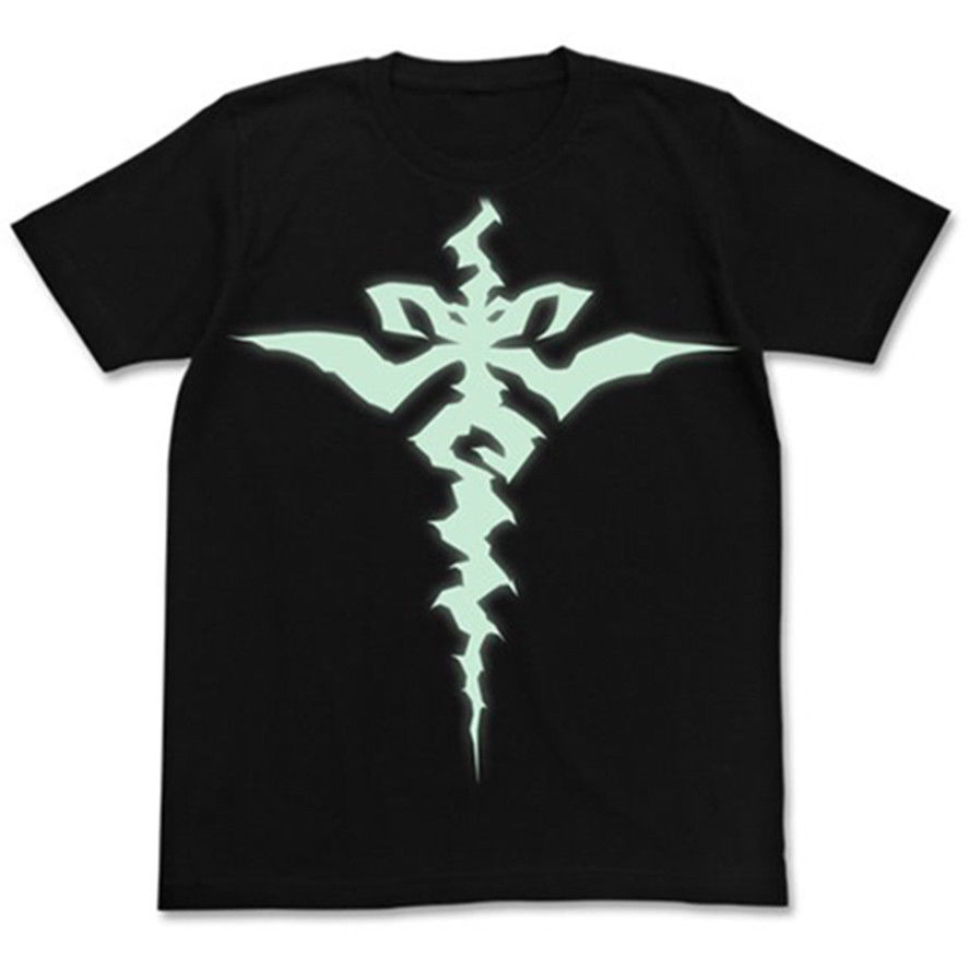 Destino/Apócrifos Sabre de Siegfried Cospa T-shirt Preto Glow In Escuro Preto Tamanho L