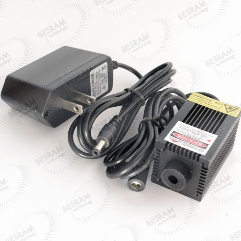 200 mW-250 mW 650nm 660nm Módulo de diodo láser rojo con adaptador 5VDC iluminación de escenario