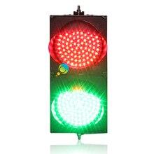 High brightness new design PC housing cheap 200mm red green  full ball LED traffic signal light