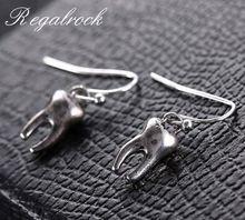Regalrock Arty Cute Dentistry Medical Tooth Earrings