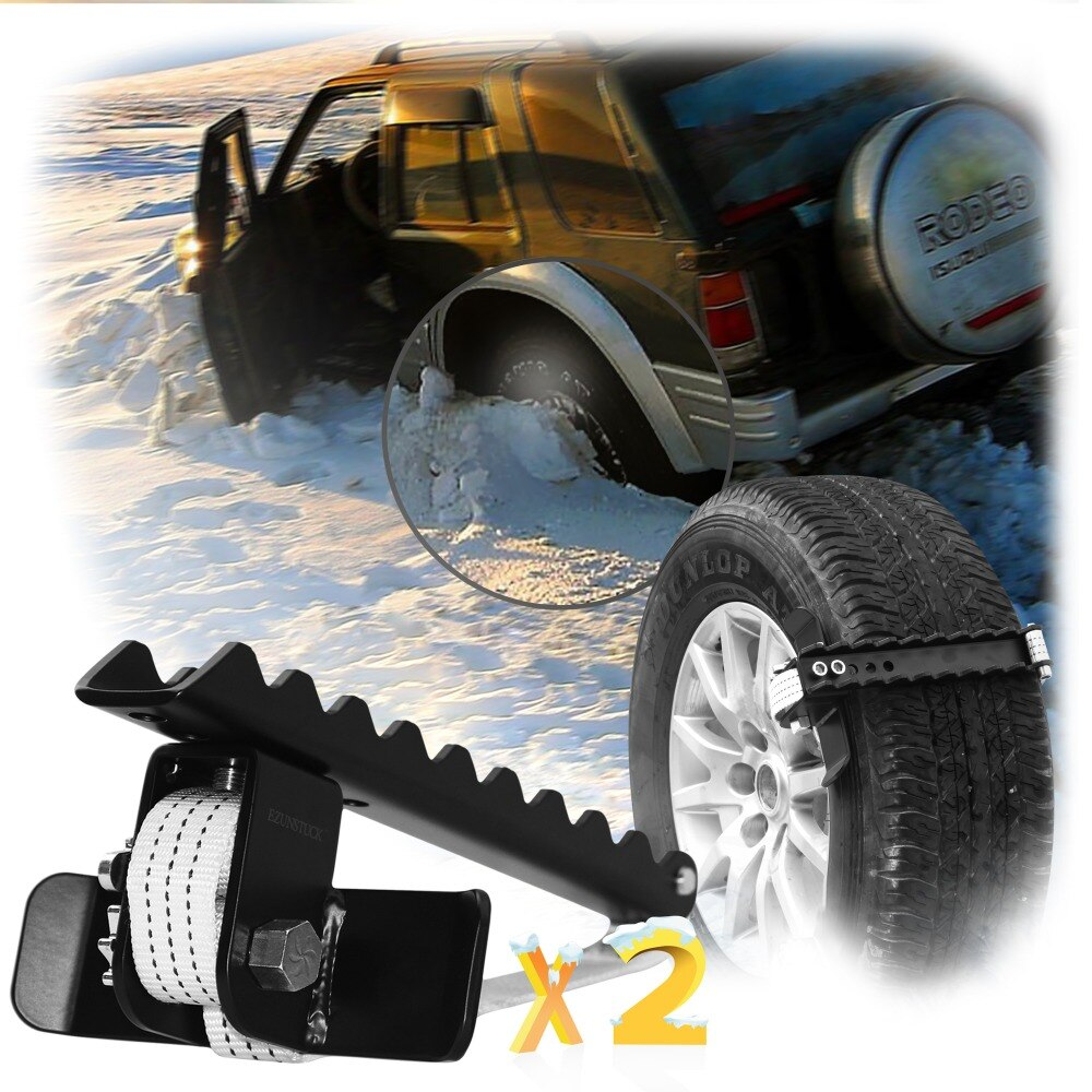 EZUNSTUCK Tire Anti-Skid Tool-RWD/AWD/4x4 SUV, Trucks, Ultimate Get Unstuck Solution for Sand, Snow, Ice, Better Than Traction