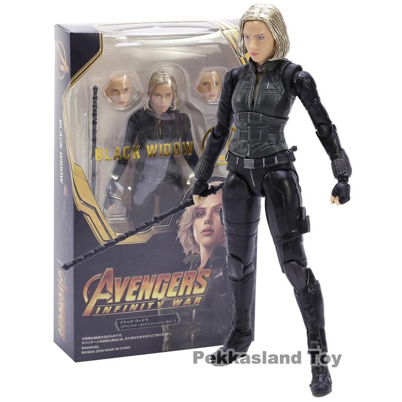 Black Widow Avengers Infinity War Natasha Romanoff PVC Action Figure Collectible Model Toy
