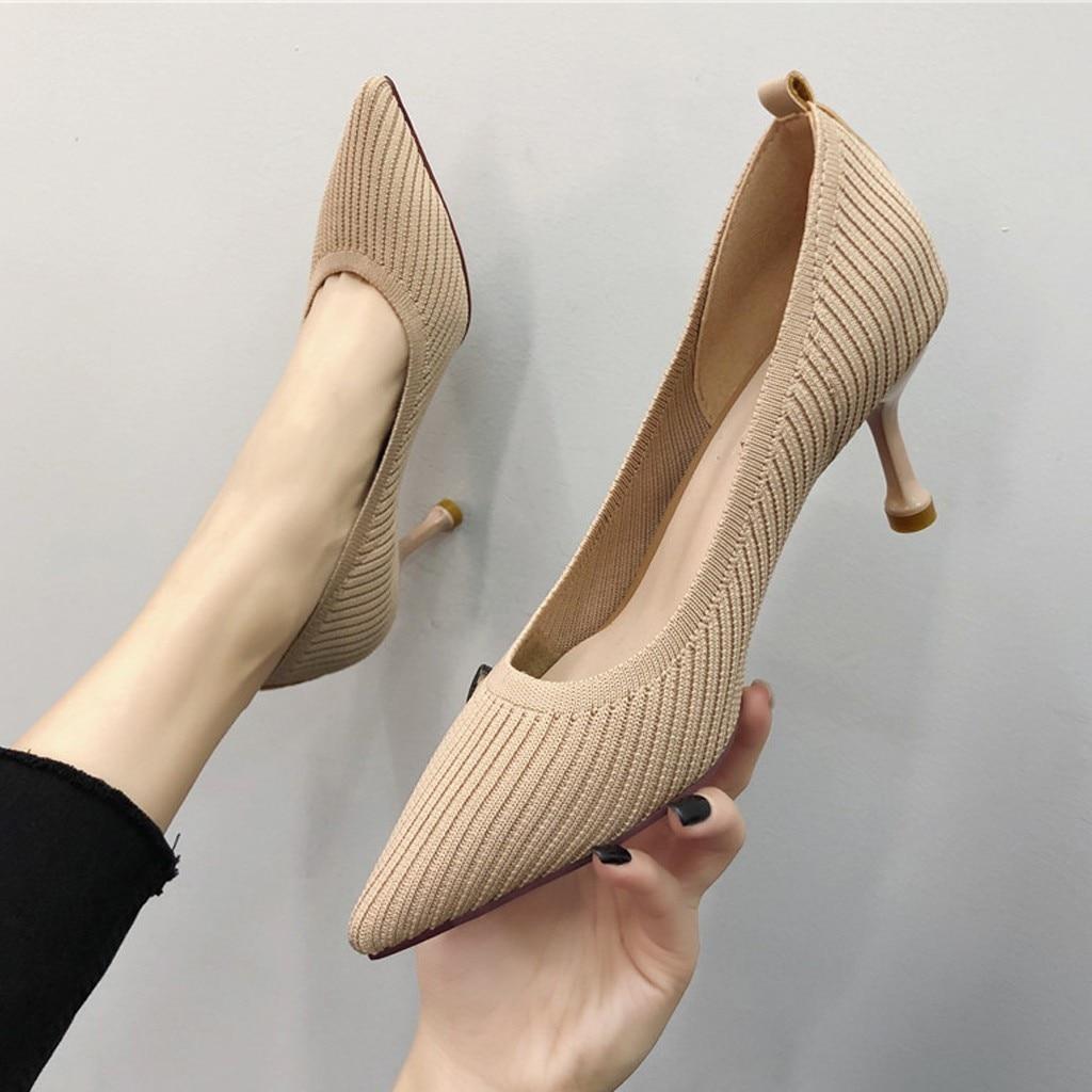 YOUYEDIAN, sandalias de verano para mujer, marca 2018, tacones altos, tacones para mujer, hebilla sexi, sandalias sexis de tacón alto, zapatos para mujer, 5 #3,5