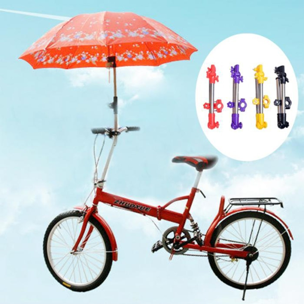 Регулируемый держатель для зонта на детскую коляску поворотный кронштейн защиты