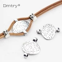 dmtry 5pcslot 20 off connectors diy clasps for leather cord bracelets bangles hooks necklace bracelet jewelry findings lc0083