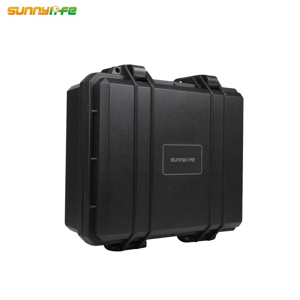 Sunnylife-Bolsa de almacenamiento rígida para Dron, Estuche de transporte para DJI MAVIC...
