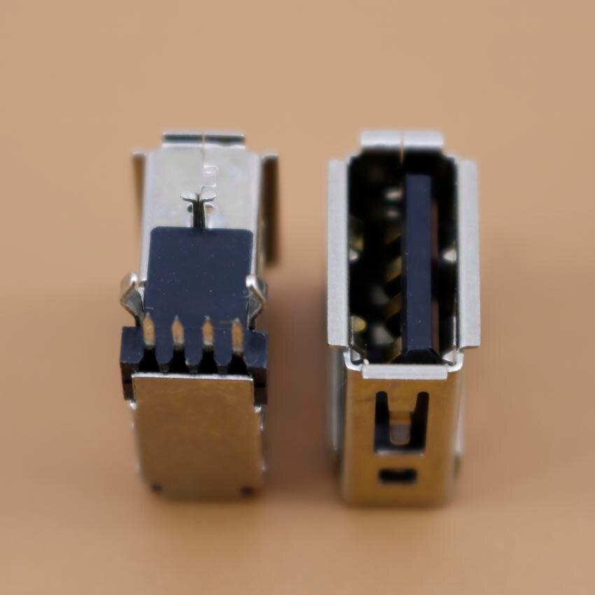 YuXi 1 unids/lote USB 2,0 4 pin un tipo hembra enchufe de...